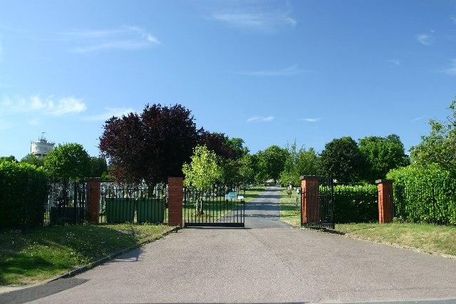 Bury St Edmunds cemetery