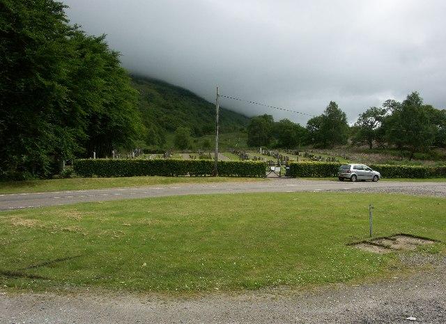Burial ground near Kinlochleven