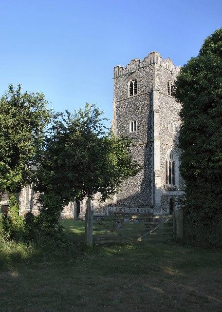 Hawstead Church