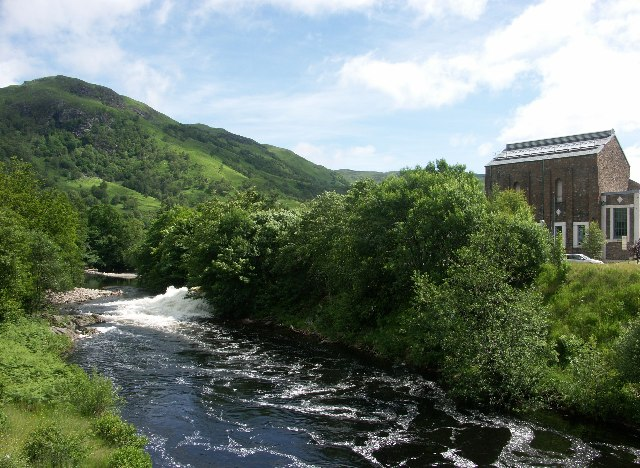 River Leven in Kinlochleven