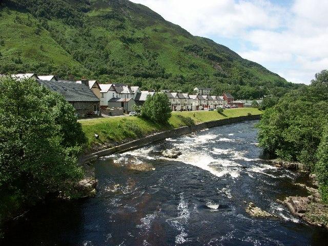 River Leven in Kinlochleven