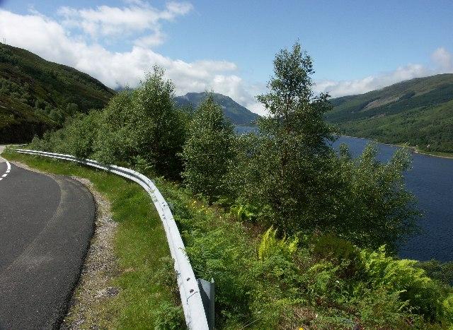 B863 on South Side of Loch Leven