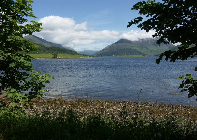 Loch Leven from near Craigrannoch