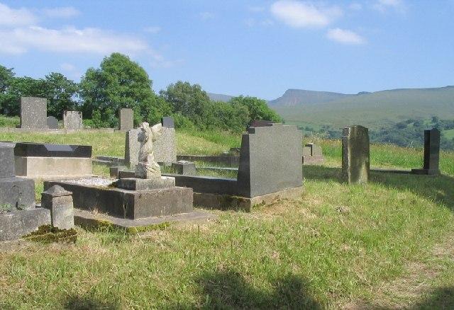 Llanddeusant Graveyard