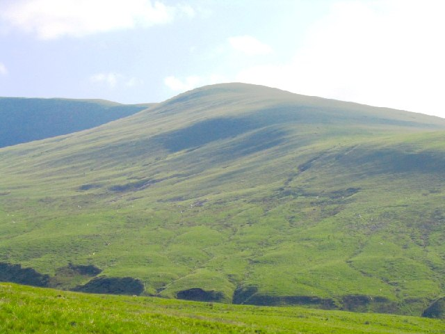 Slopes of Waun Lefrith from the northeast