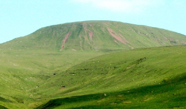 Fan Foel from the northwest