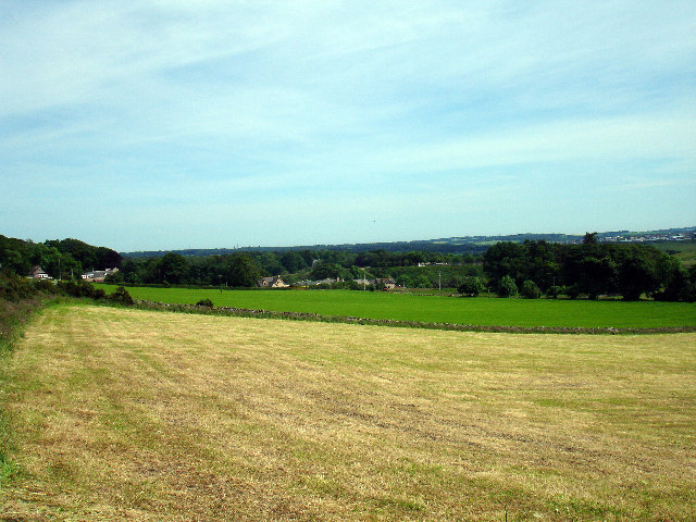 Farmland near Cothall