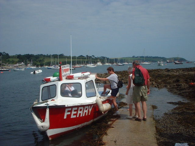 Ferry at Helford Passage