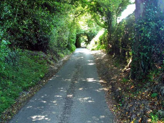 Down the country lane