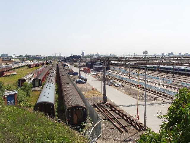 Old Oak Common Sidings