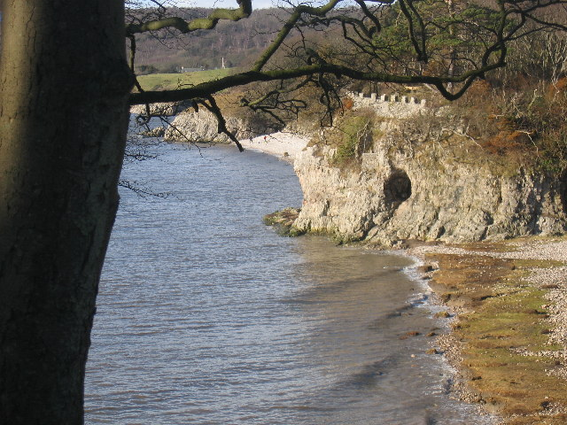 Cave on the Shore at Silverdale