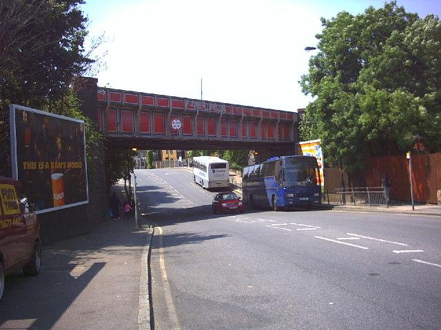 Railway Bridge over Streatham Road.
