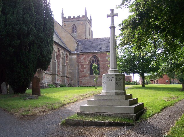 Kempsey Church and War Memorial