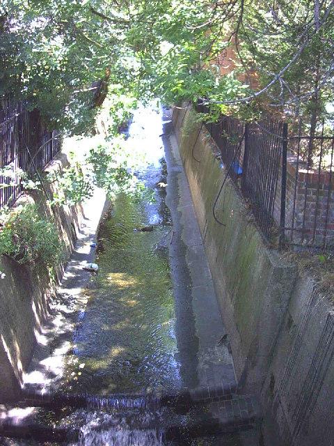 River Graveney at Streatham Vale