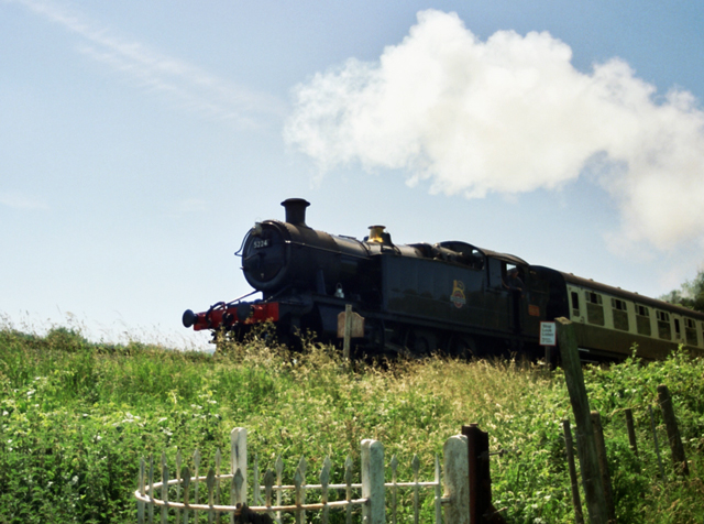 Steam Train on the West Somerset Line