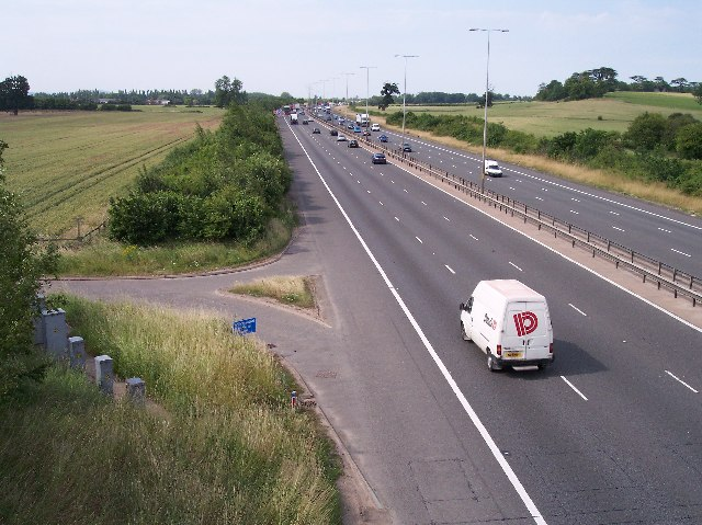 M5 from Gallops Bridge