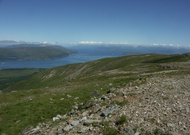 View up Loch Linnhe from near Creag Dhubh