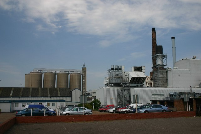 Sugar beet factory, Bury St Edmunds