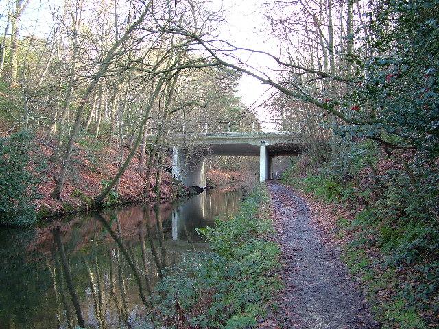 Deepcut Bridge, Basingstoke Canal