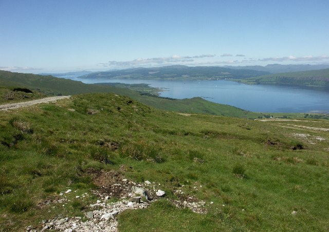 View up Sound of Mull