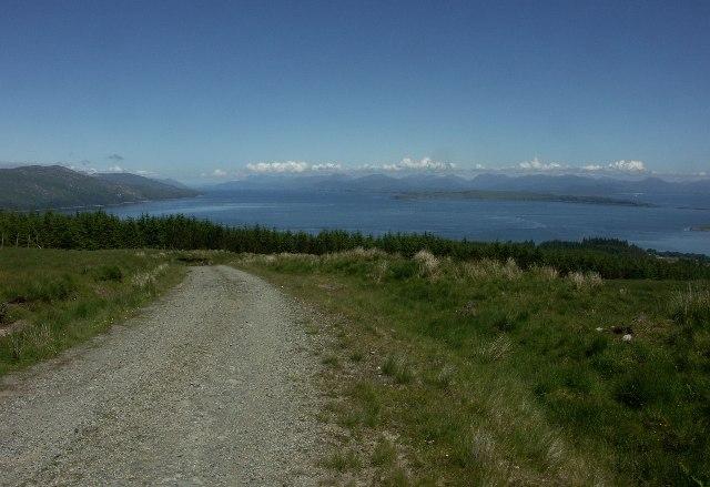 View up Loch Linnhe