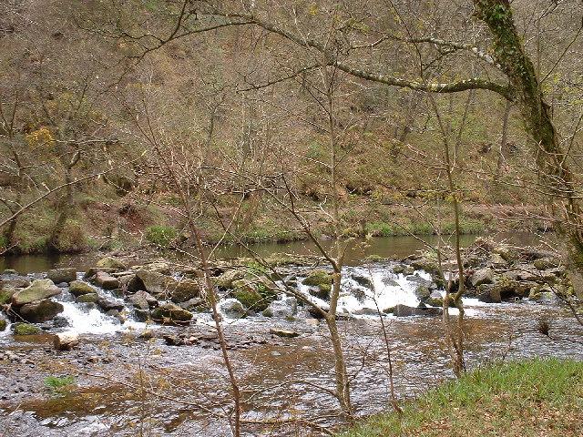 River Teign below Sharp Tor
