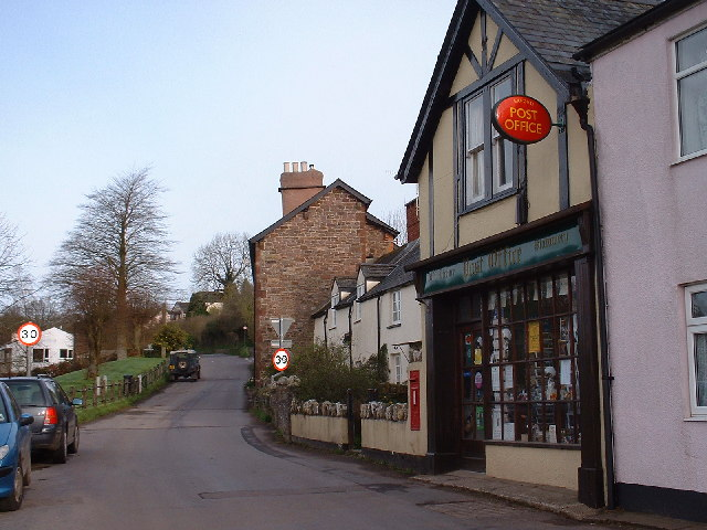 Exford Post Office