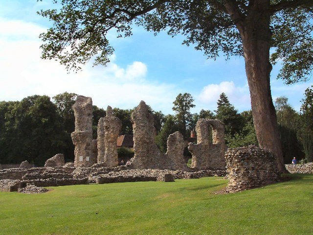 Ruins of Bury St Edmunds Abbey