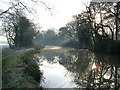 TQ0156 : Wey Navigation Canal, Send by David Griffiths