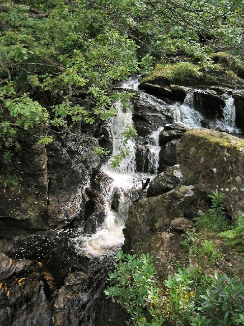 Waterfall at Inversnaid