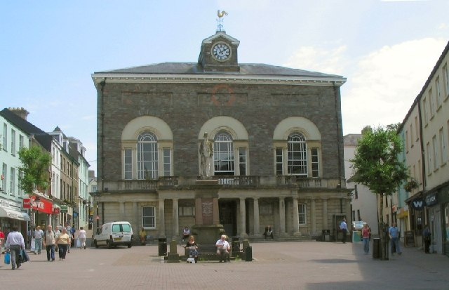 Guildhall Square, Carmarthen