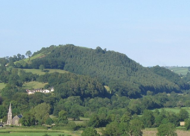 Merlin's Hill near Carmarthen