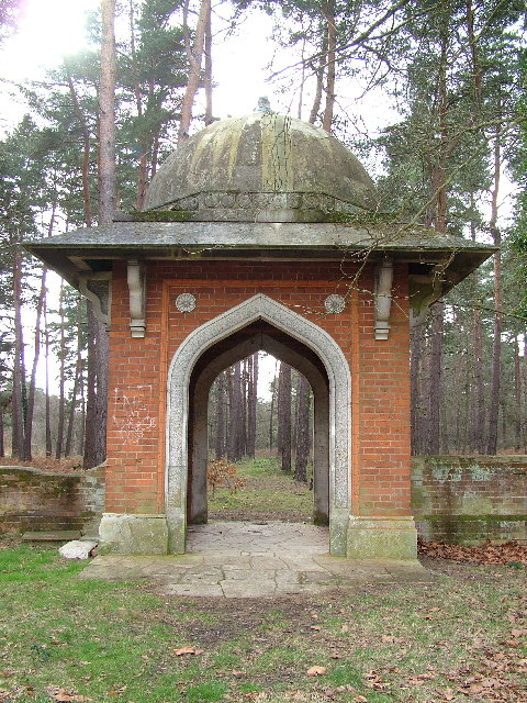 The Muslim Burial Ground, Horsell Common, Woking