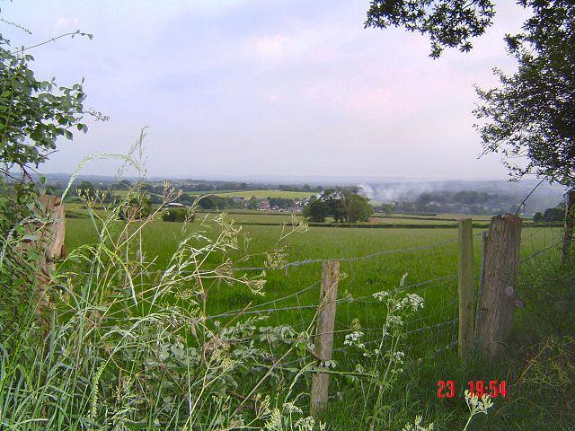 East Devon farmland