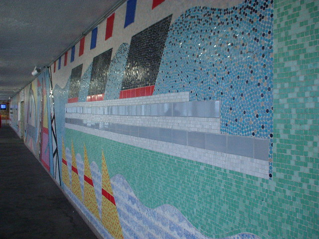 Southampton Central Railway Station, Mosaic