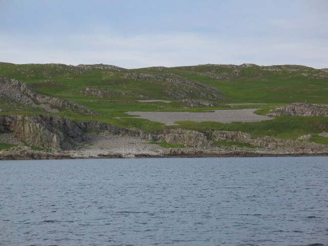 Entrance to Outer Loch Tarbert