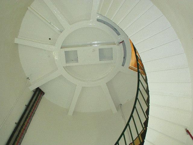 Inside St. Catherine's Lighthouse