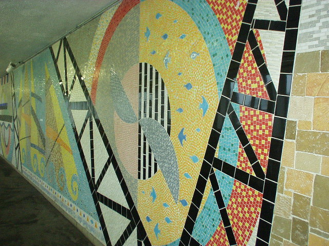 Southampton Central Railway Station, Mosaic