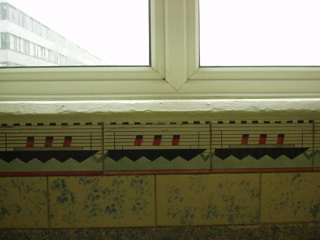 Southampton Central Railway Station, Decoration.