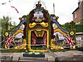 SJ9353 : Endon - Well Dressing by Alan Fleming