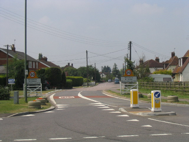 Village entrance, Bulphan, Essex