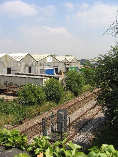 Industrial Estate & Railway Line, West Horndon, Essex
