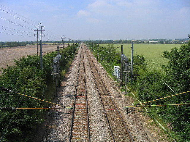 Railway Line, West Horndon, Essex