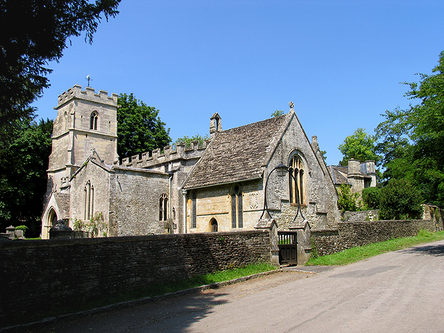 Church in Ampney Crucis