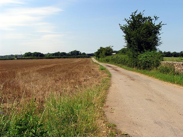 Entrance to Quarry Hill Farm