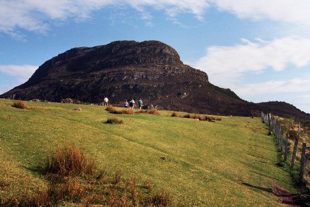 Beinn Shieldaig from near Shieldaig village