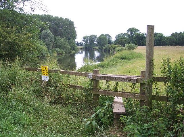 River Severn  near Severn Stoke Village
