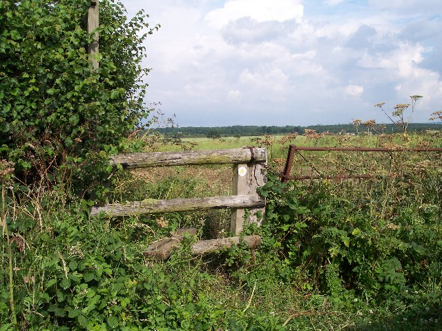 Footpath from Hill Road, Pirton to Wadborough