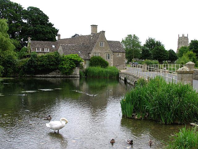 Mill Bridge at Fairford