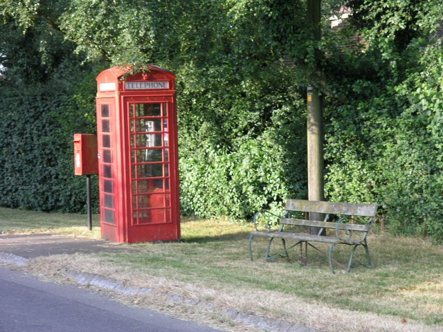 Rural telephone kiosk